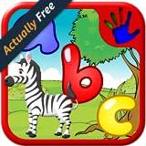 ABC scuola materna vista parola Jigsaw Puzzle forme - insegna nei bambini l`alfabeto lettera fonetica inglese e oltre 100 parole della lettura