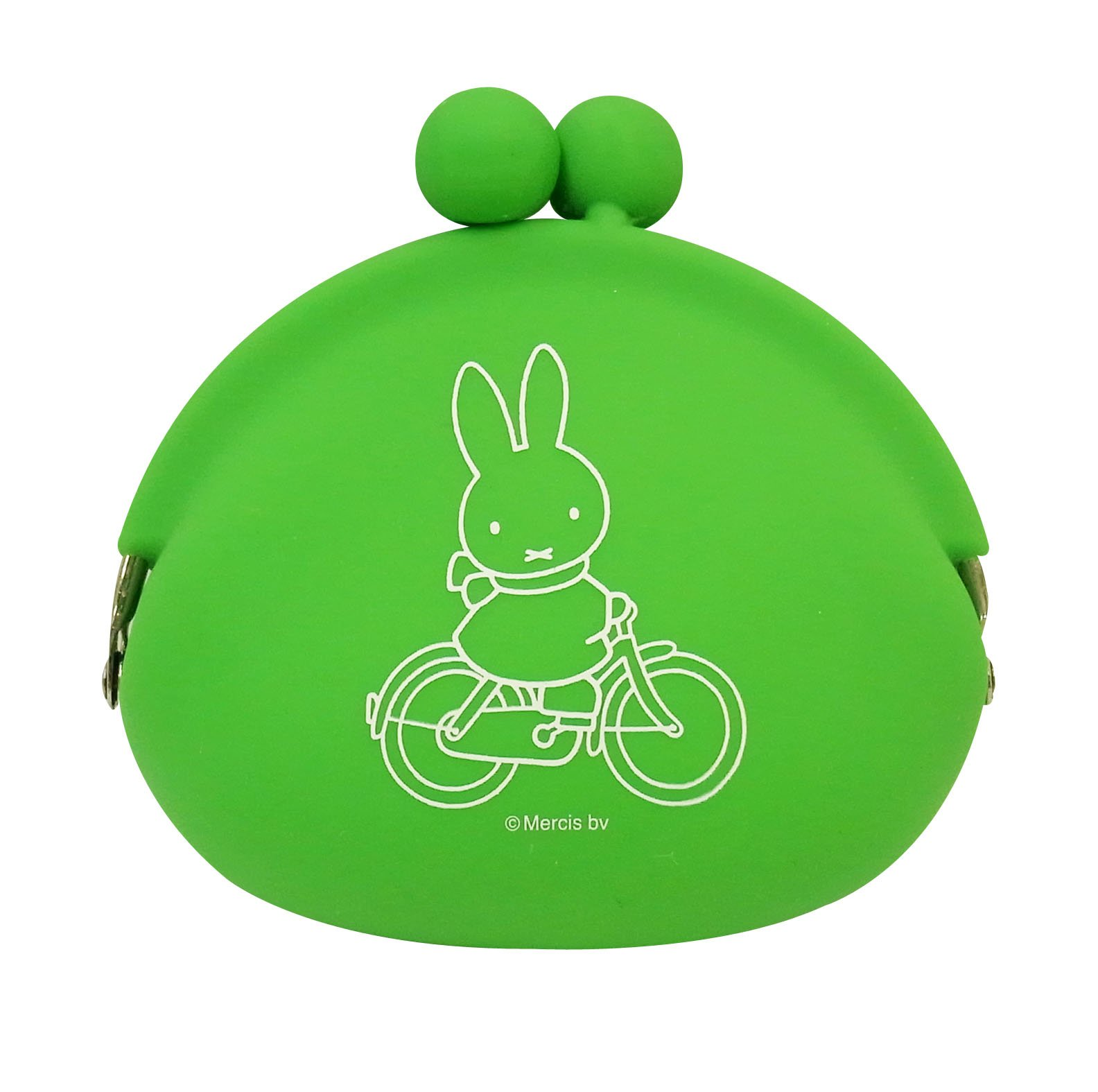 Silicon pouch POCHI Miffy Green MFP-003 (japan import)
