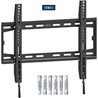 Eono by Amazon - Fixed TV Wall Bracket, Ultra Slim TV Wall Mount for Most 26-55 inch LED, LCD OLED and Plasma TVs with…