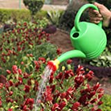 Go Hooked Premium Plastic Watering Can for Plants (Green) (1.8 Litre)