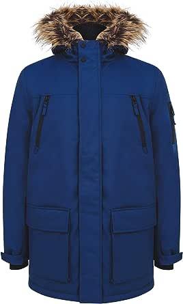 Tokyo Laundry Men's Nolte Hooded Multi-Pocket Utility Parka Coat