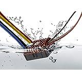 هوبيوينغ QUICRUN WP 1080 نحى (2-3S) تحكم السرعة الإلكترونية للماء ESC مع برنامج مربع ليد بيك XT60 التوصيل أرسي سيارة 1:10 301