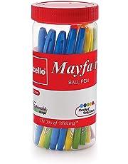 Cello Mayfair Ball Point Pen - 25 pens Jar (Blue)