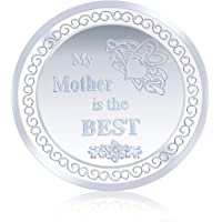 Ananth Jewels Silver Coin 10 grams MY MOTHER IS THE BEST