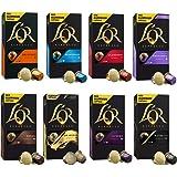 L'OR Café Espresso Lot de variétés - Capsules de café en aluminium compatibles avec Nespresso® * - 8 paquets de 10 capsules (