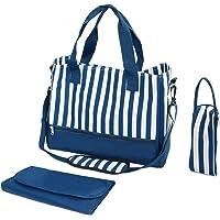 wuuhoo® I Wickeltasche Amy, elegant für unterwegs I lässige und stilvolle Baby-Reisetasche mit Kinderwagen-Befestigung I…