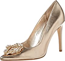 Dune London Breanne Di Occasion Shoe For Women, Gold, 39 EU