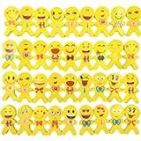 JZK 36 Emoticon Emoji gomma cancellare bambini bomboniera pensiero pensierino regalino dopo festa compleanno bimbi…