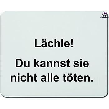 Mousepads Rechteckig 5 Mm Lustig Spruche Spruch Weiss Geschenk