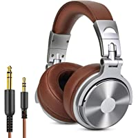 OneOdio Over Ear Kopfhörer Geschlossene Studiokopfhörer mit Kabel, Mikrofon,Share Port, Protein-Leder-Ohrmuscheln für…