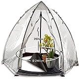 Bio Green Winterschutz Tropical Island Zelt - L- 240 x 200