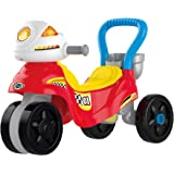 VTech 3-In-1 Ride with Me Motorbike, Baby Walker for Toddlers, Interactive Toy for Sensory Play, Educational Learning Games w