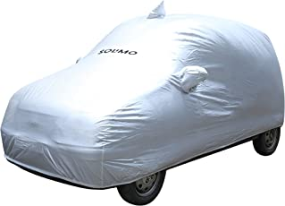 Amazon Brand - Solimo Santro Xing Waterproof Car Cover (Silver)