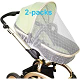 Mosquito Net for Baby Stroller Bug Net for Infant Carriers Car Seats Cradles, Crib, Pack and Play, Bassinet, Playpen Premium