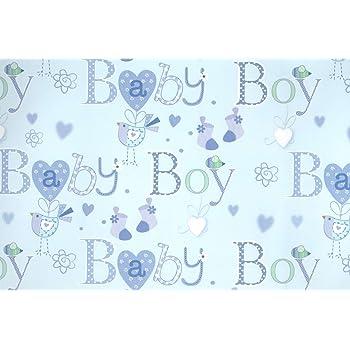 3 X Bird Socks Mouse Blue New Born Baby Boy Gift Wrap Luxury