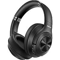 Mpow H21 Casque Bluetooth à Réduction de Bruit,[Jusqu'à 65 Heures],Casque sans Fil CVC 6.0 Microphone,Basses Profondes Hi-FI, Casque à Réduction de Bruit Pliable pour PC/Téléphones/Tablette