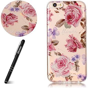 Slynmax Coque pour iPhone 6s Plus,iPhone 6 Plus Case Luxe Slim, [Rose] Ultra-Fine TPU Silicone Souple Touché Doux, Adaptation Parfaite Housse Etui Coque pour iPhone 6s Plus/iPhone 6 Plus