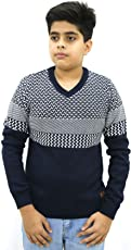 Maxexcel Krazy Gang Boy's V-Neck Cotton Pullovers