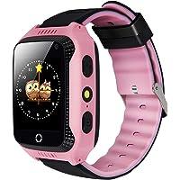Montre intelligente pour enfant avec GPS, traqueur, appel SOS, anti-perte, surveillance à distance, carte SIM, appareil…