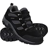 Mountain Warehouse Voyage Mens Waterproof Shoes - Lightweight Hiking Boots, Fast Dry Walking Boots, Eva Midsole, Mesh…