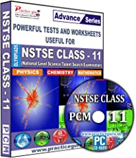 Practice Guru Practice Guru (Advance Series) NSTSE Class 11 - PCM (CD)