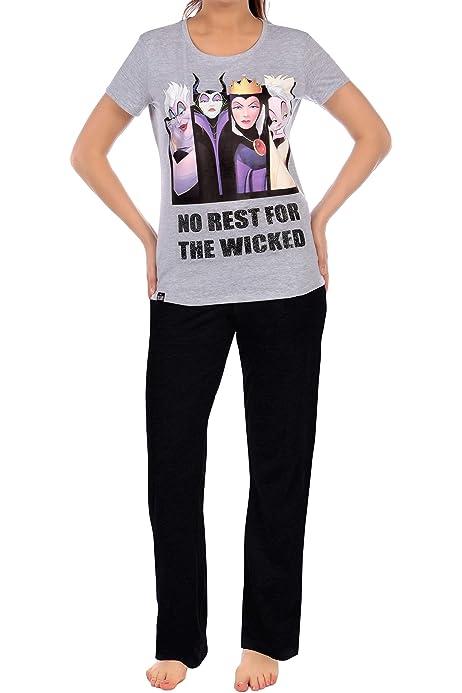 Disney Pijama para Mujer Villanas: Amazon.es: Ropa