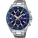 Casio Edifice EFR-568D - Reloj cronógrafo para Hombre (Mecanismo de Cuarzo, Correa de Acero Inoxidable)