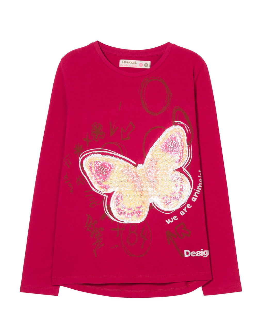 Desigual TS_Juneau Camiseta para Niñas