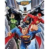 empireposter – DC Comics – rise gerechtelijke league – afmetingen (cm), ca. 40 x 50 - mini-poster, NIEUW -