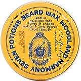 Cera para barba de Seven Potions, 30ml, estilo natural y orgánico, fijación media, da forma y nutre tu barba mientras que bu