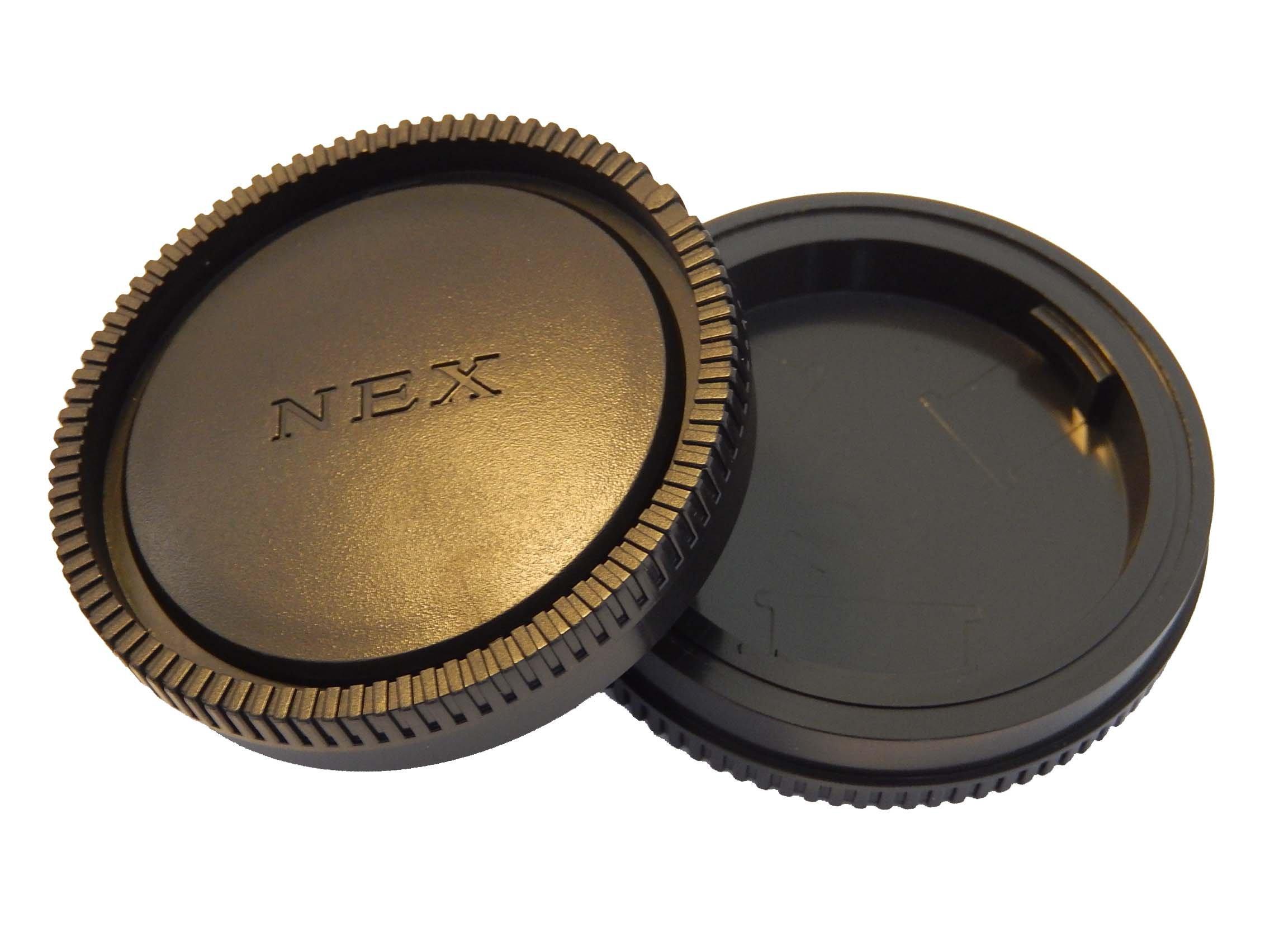 Copri Obiettivo VHBW per Fotocamera Sony NEX 7, NEX 5N, NEX C3, NEX 5, NEX 3, NEX 6, NEX 5R, NEX F3