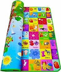 Tappeto per bambini, bambini striscianti educativo doppio lato tappeto soffice schiuma centro attività coperta da picnic regalo di compleanno del bambino (3dimensioni per la scelta)