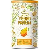 Proteine Vegane | MANGO | Proteine vegetali di riso e piselli germogliati, semi di lino, amaranto, semi di girasole, semi di