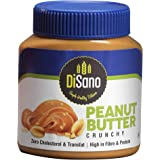 DiSano Peanut Butter, Crunchy, 25% Protein with Vitamins & Minerals, 1 Kg