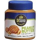 DiSano Peanut Butter, Crunchy, (Zero cholesterol&Transfat,High in fibre &protein) 1 Kg