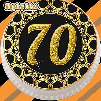 70 geburtstag tortenaufleger