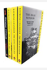 Phillip Marlowe Series - Raymond Chandler 4 Books Set Collection - The Big Sleep, The Lady in the Lake, The Long Good-Bye, The High Window Paperback