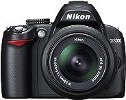 Nikon D3000 Digital SLR Camera with 18-55mm VR Lens Kit (10.2MP) 3 inch LCD (Renewed)
