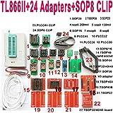 NANAO TL866II Plus USB Programmer 24 Adapter Socket SOP8 Clip 1.8V nand Flash 24 93 25 mcu Bios EPROM AVR eprom