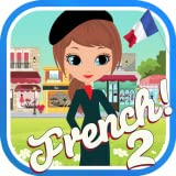 Learn French Words 2 Free: Vocabulary Lessons Game Using Language Flashcards