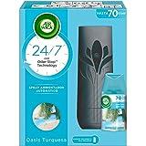 Air Wick Freshmatic Aparato y Recambio de Ambientador Spray Automático, Esencia para Casa con Aroma a Oasis Turquesa - 1 apar