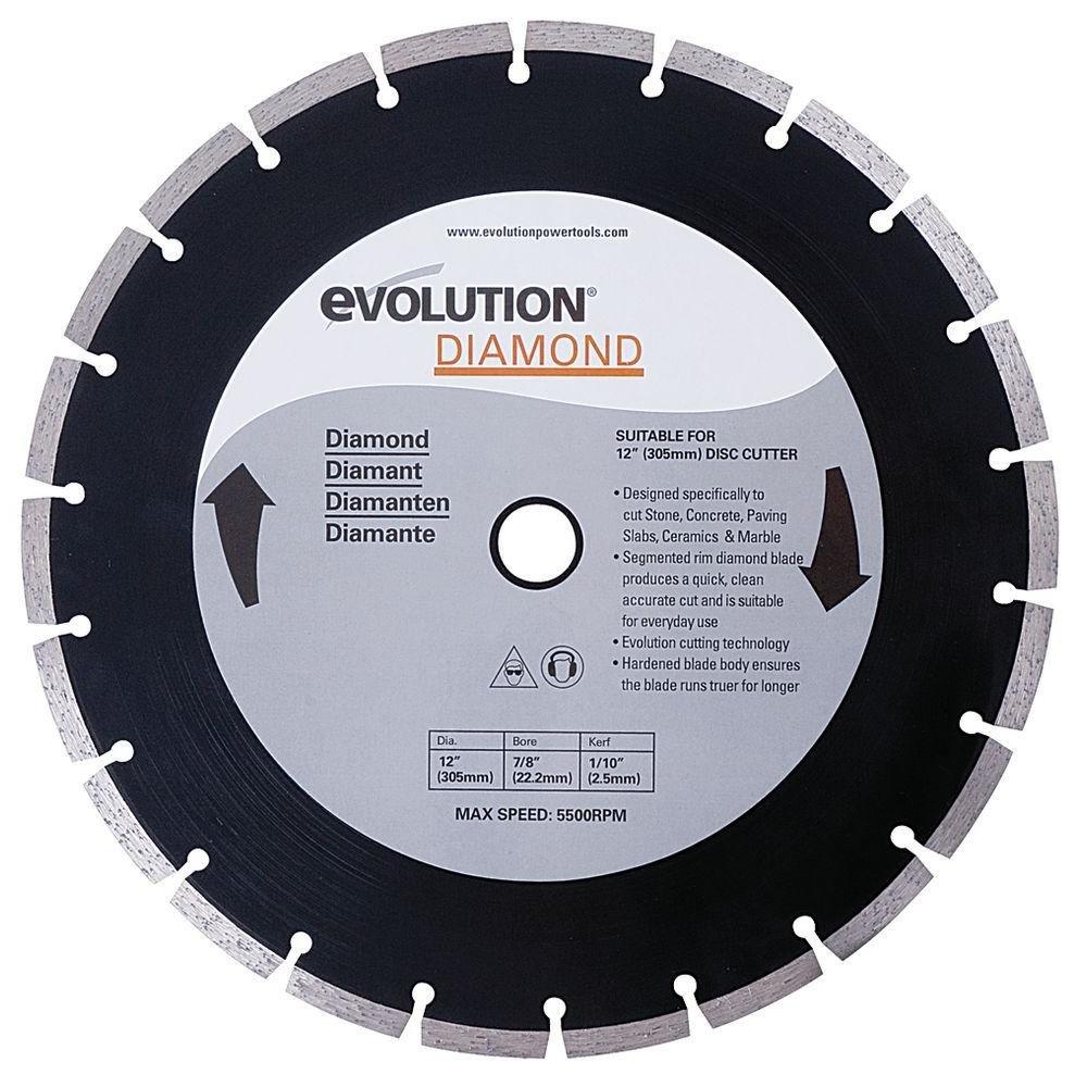 Evolution diamond blade 255 mm amazon diy tools greentooth Images