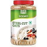 Amazon Brand - Solimo Steel Cut Oats, 2 Kg