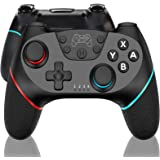 SZPACMATE-Nintendo Games Switch Controller, Rechargeable Remote Wireless Switch Lite Controller Gamepad Joypad with Adjustabl