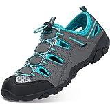 Sandali Estivi Uomo Esterni PelleTraspirante Casual Sneakers Sandali Sportivi Scarpe da Trekking Passeggiata Fisherman Antisc