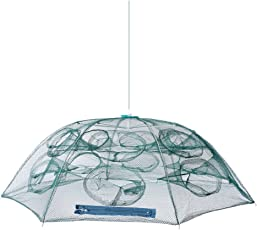Segolike Folding Fishing Bait Trap Cast Dip Net Cage Crab Fish Minnow Crawdad Lobster Net Automatic Catching