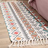 Floor mats, retro ethnic style carpets, bedroom sofa cushions, suitable for bedroom and living room