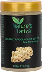 Organic Raw Shea Butter Unprocessed, From the Wild Jungles of Africa, 500gm