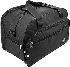 nisun Unisex Multipurpose Foldable Matty Travel Bag (Uniwalk Travel Bag - Black)