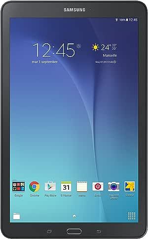 "Samsung Galaxy Tab E Tablette tactile 9,6"" Noir Metallic (8 Go, Android, 1 port Micro USB 2.0, Wi-Fi)"